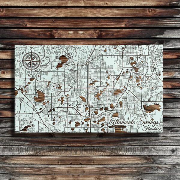Altamonte Springs, Florida Street Map