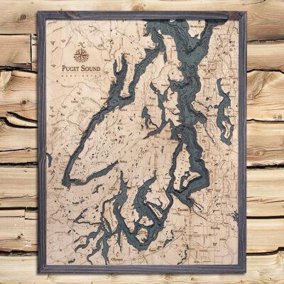 Puget Sound Map