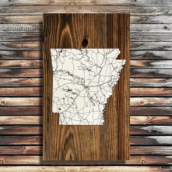 Arkansas Isolated Map