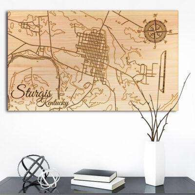 Sturgis, Kentucky Street Map