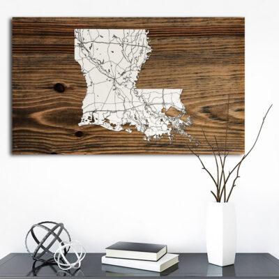 Louisiana Isolated Map