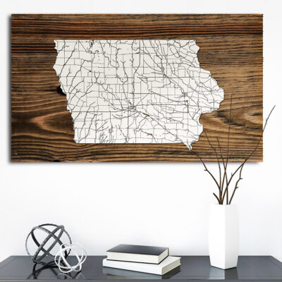 Iowa Isolated Map