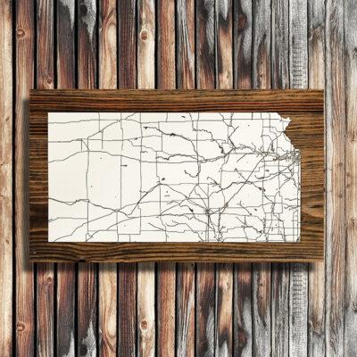 Kansas Isolated Map