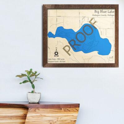Big Blue Lake (Muskegon County)