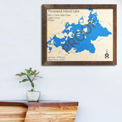 Thousand Island Lake - Cisco Lake Chain