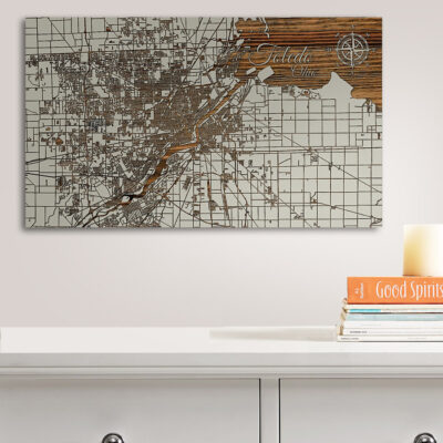 Toledo Wood Map