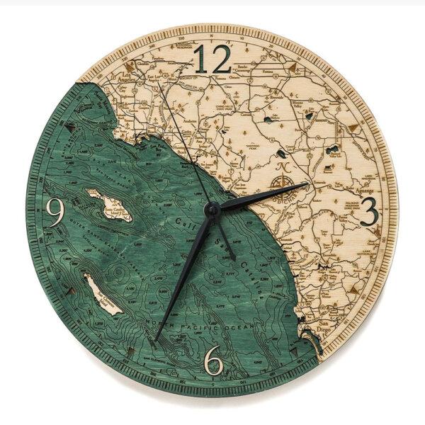 LA to San Diego Clock