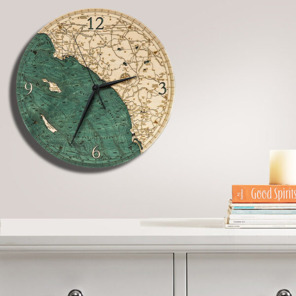 LA to San Diego Nautical Clock