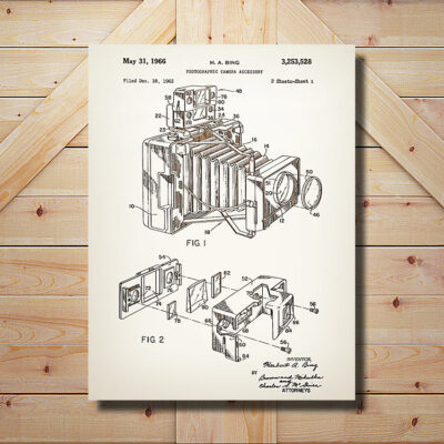 Camera Accessory Patent Art
